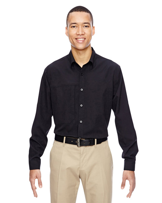 87047 Ash City - North End Men's Excursion Concourse Performance Shirt