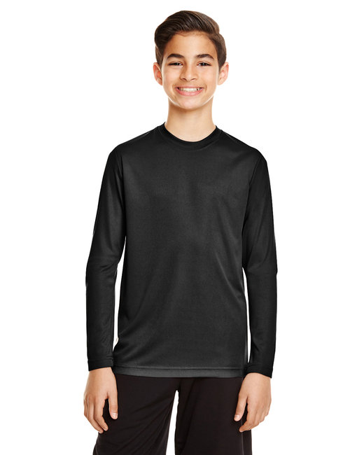 TT11YL Team 365 Youth Zone Performance Long-Sleeve T-Shirt