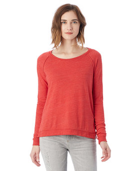01919E1 Alternative Ladies' Eco Jersey Triblend Locker Room Fashion Pullover T-Shirt