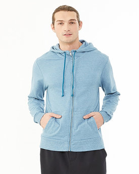 09880E Alternative Men's Eco-Mock Twist Rocky Fashion Hoodie