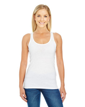 220RT Threadfast Ladies' Spandex Performance Racer Tank