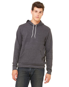 3719 Bella + Canvas Poly-Cotton Fleece Pullover Hoodie