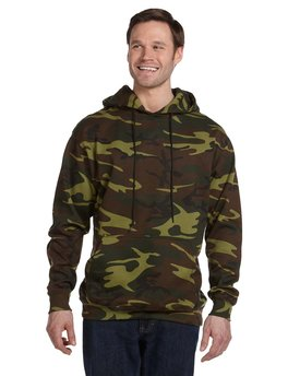 3969 Code Five Camouflage Pullover Hooded Sweatshirt