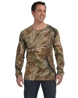 3981 Code Five Officially Licensed REALTREE® Camouflage  Long-Sleeve T-Shirt