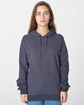 5495 American Apparel California Fleece Pullover Hoodie