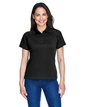 75056 Ash City - Extreme Ladies' Eperformance™ Ottoman Textured Polo
