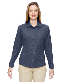 77045 North End Ladies' Excursion Utility Two-Tone Performance Shirt