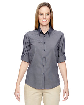77046 North End Ladies' Excursion F.B.C. Textured Performance Shirt