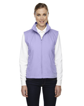 78051 Ash City - North End Ladies' Full-Zip Lightweight Wind Vest