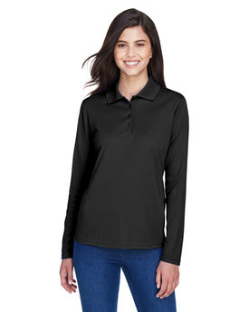 78192 Ash City - Core 365 Ladies' Pinnacle Performance Long-Sleeve Piqué Polo