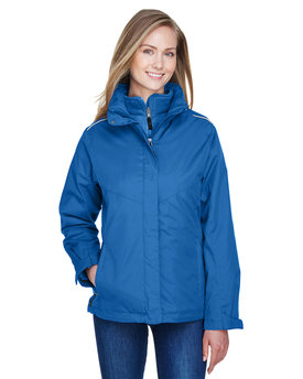 78205 Ash City - Core 365 Region 3-in-1 Jacket with Fleece Liner