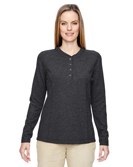 78221 North End Ladies' Excursion Nomad Performance Waffle Henley