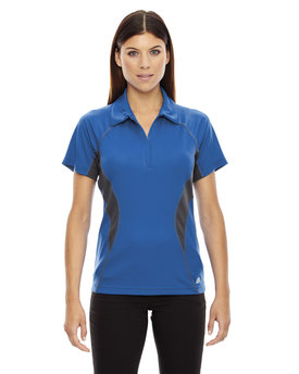 78657 Ash City - North End Sport Red Serac UTK cool.logik™ Performance Zippered Polo