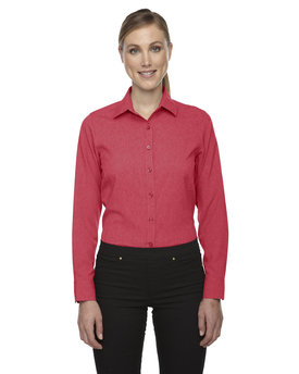 78802 Ash City - North End Sport Blue Ladies' Mélange Performance Shirt