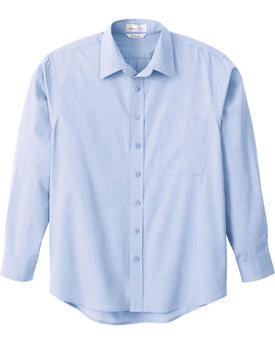 87035 Ash City - Il Migliore MEN'S PRIMALUX TM END-ON-END DRESS SHIRT
