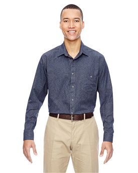 87045 North End Men's Excursion Utility Two-Tone Performance Shirt