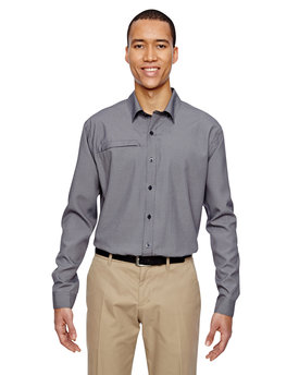 87046 North End Men's Excursion F.B.C. Textured Performance Shirt