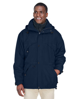 88007 Ash City - North End 3-in-1 Parka with Dobby Trim