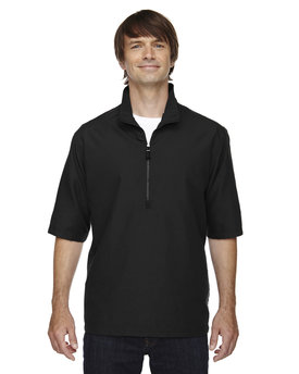 88084 Ash City - North End M·I·C·R·O Plus Lined Short-Sleeve Wind Shirt with Teflon®