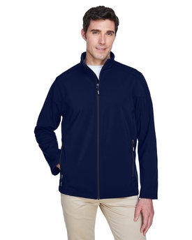 88184T Ash City - Core 365 Men's Tall Cruise Two-Layer Fleece Bonded Soft Shell Jacket