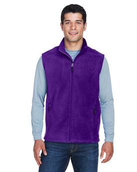 88191 Ash City - Core 365 Men's Journey Fleece Vest