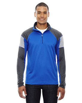 88214 Ash City - North End Men's Quick Performance Interlock Half-Zip Top