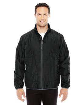 88231 Ash City - North End Men's Resolve Interactive Insulated Packable Jacket