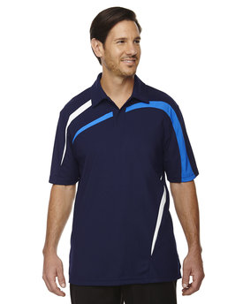 88645 Ash City - North End Sport Red Impact Performance Polyester Piqué Colourblock Polo