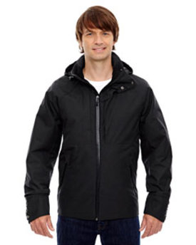 88685 Ash City - North End Sport Blue Skyline City Twill Insulated Jacket with Heat Reflect Technology