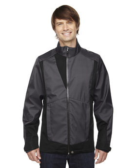 88686 Ash City - North End Sport Blue Commute Three-Layer Light Bonded Two-Tone Soft Shell Jacket with Heat Reflect Technology