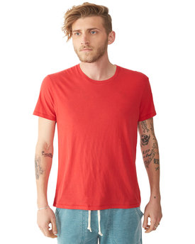 AA6005 Alternative Men's Organic Cotton Basic Fashion Crew