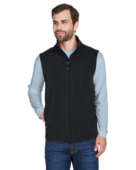 CE701 Ash City - Core 365 Men's Cruise Two-Layer Fleece Bonded Soft Shell Vest