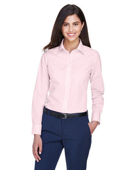 D640W Devon & Jones Ladies' Crown Woven Collection™ Gingham Check