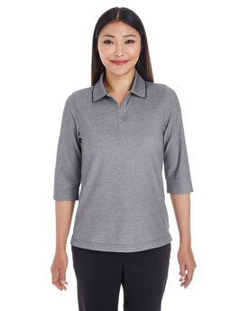 DG220W Devon & Jones Ladies' Pima-Tech™ Oxford Piqué Polo