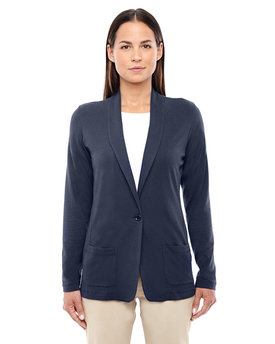 DP462W Devon & Jones Ladies' Perfect Fit  Shawl Collar Cardigan