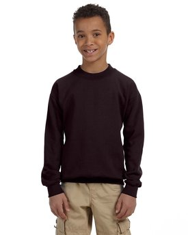 G180B Gildan Heavy Blend™ Youth 13.3 oz./lin. yd., 50/50 Fleece Crew