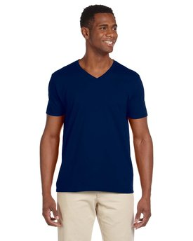 G64V Gildan Adult Softstyle® 7.5 oz./lin. yd. V-Neck T-Shirt