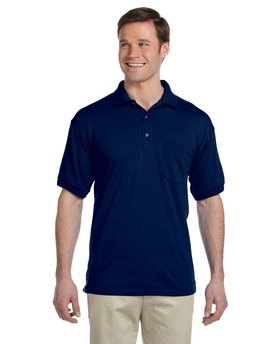 G890 Gildan DryBlend® 9.4 oz./lin. yd., 50/50 Jersey Polo with Pocket