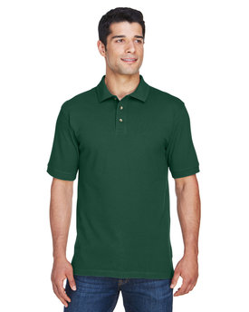 M200 Harriton Men's 6 oz. Ringspun Cotton Piqué Short-Sleeve Polo