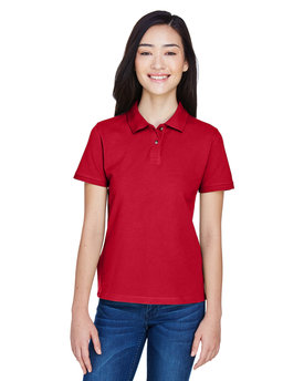 M200W Harriton 6 oz./yd² Ringspun Cotton Piqué Short-Sleeve Polo