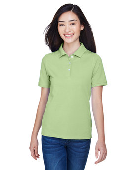M265W Harriton 5.6 oz./yd2 Easy Blend™ Polo
