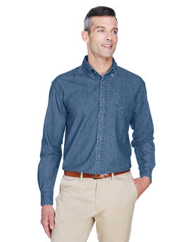 M550 Harriton 6.5 oz./yd2 Long-Sleeve Denim Shirt