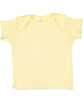 R3400 Rabbit Skins Baby Rib Lap Shoulder T-Shirt