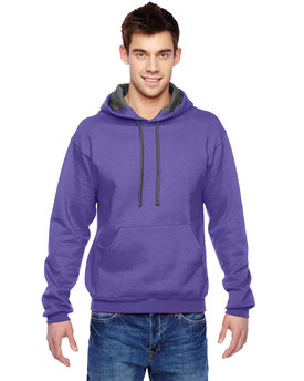 SF76R Fruit of the Loom 12 oz./lin. yd. Sofspun® Hooded Sweatshirt