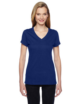 SFJVR Fruit of the Loom Ladies' 7.8 oz./lin. yd. Sofspun® Jersey Junior V-Neck T-Shirt