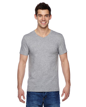 SFVR Fruit of the Loom Adult 7.8 oz./lin. yd. Sofspun® Jersey V-Neck T-Shirt