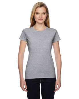 SSFJR Fruit of the Loom Ladies' 7.8 oz./lin. yd. Sofspun® Jersey Junior Crew T-Shirt