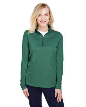TT31HW Team 365 Ladies' Zone Sonic Heather Performance Quarter-Zip