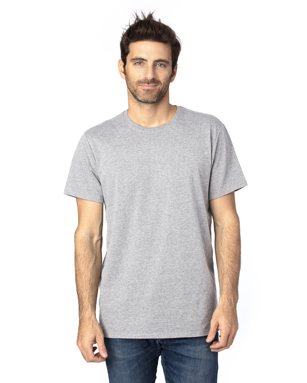 Threadfast Unisex Ultimate T-Shirt HEATHER GREY