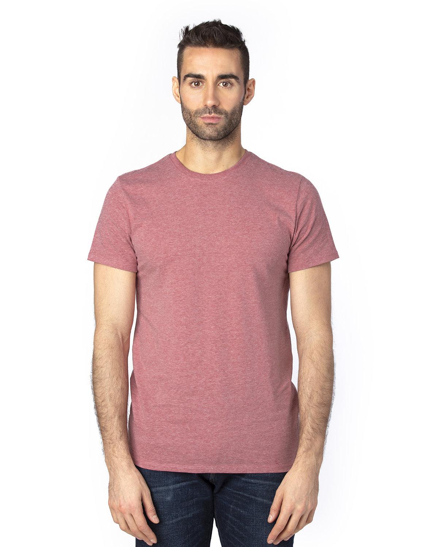Threadfast Unisex Ultimate T-Shirt MAROON HEATHER
